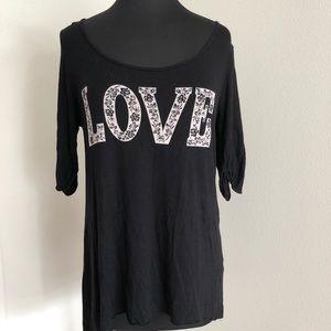 Black LOVE Shirt